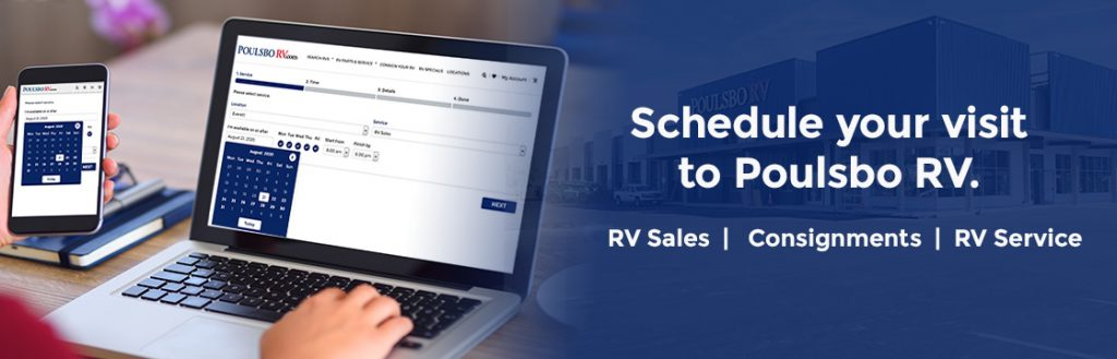 Schedule appointment at Poulsbo RV