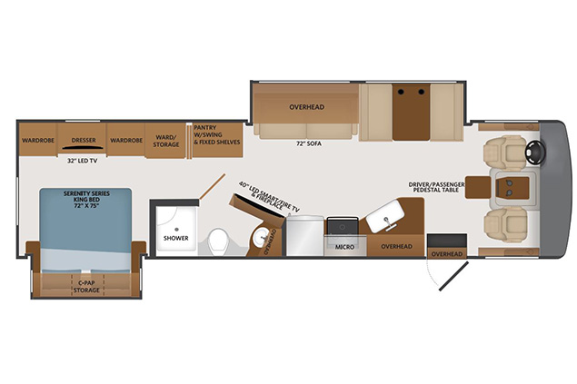 FLEETWOOD FORTIS Floor Plan