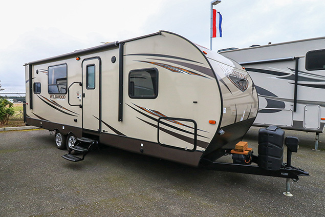 2016 Forest River Wildwood 25RKS