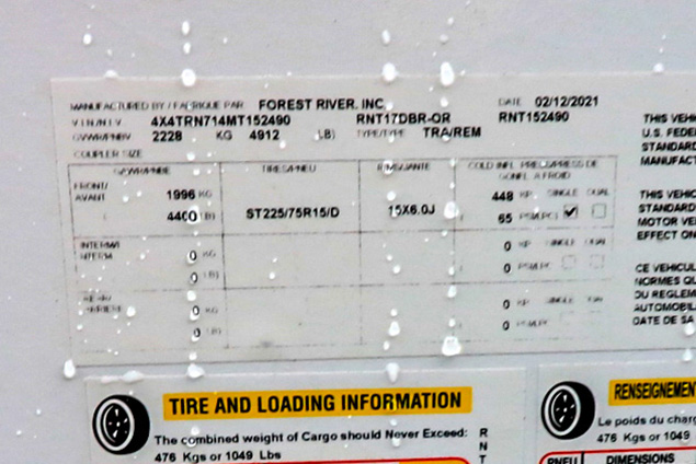 2021 FOREST RIVER RAINIER 17DB