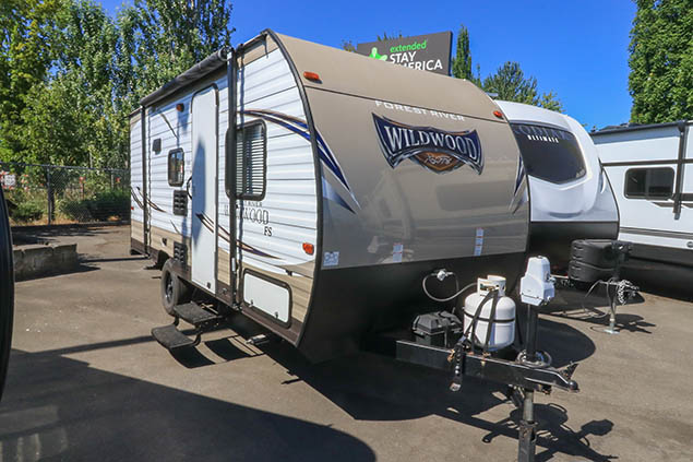 2018 FOREST RIVER WILDWOOD 175BH