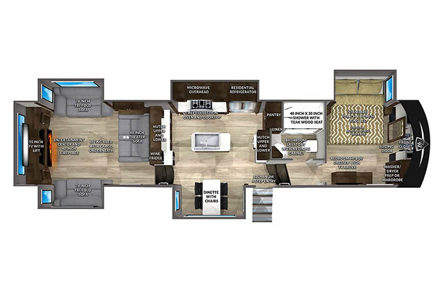 2022 VANLEIGH BEACON 42RDB
