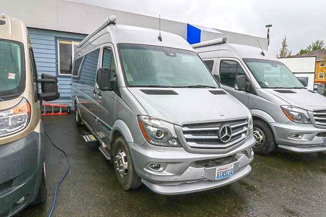 2016 Airstream Interstate Ext Lounge Twin